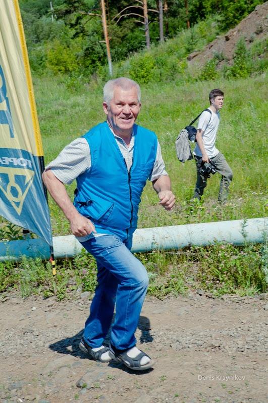 НА старте дежурила бригада скорой медицинской помощи - Ural MTB Marathon 2015