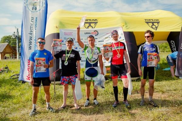 Награждение М 30-39 - Ural MTB Marathon 2015