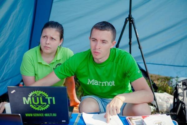 Смирнов Алексей и Сидорова Анна - Ural MTB marathon 2015