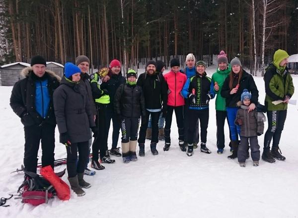 Лыжная тренировочная гонка на 10 и 20 км - Multi-Team