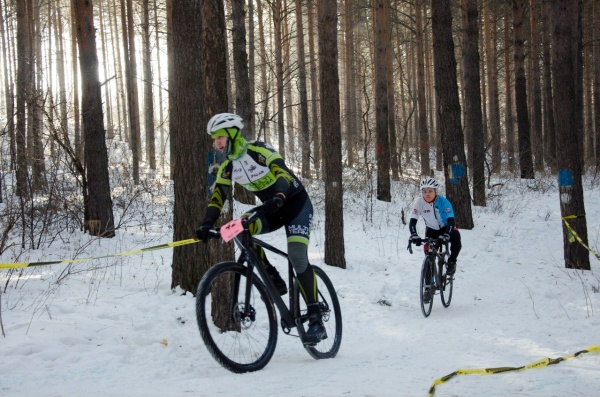 Брусницин Павел лидировал в самом начале дистанции - Multi-Team Training XC - stage 2