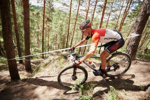 Спуск со змейки - Ural MTB Marathon 2016