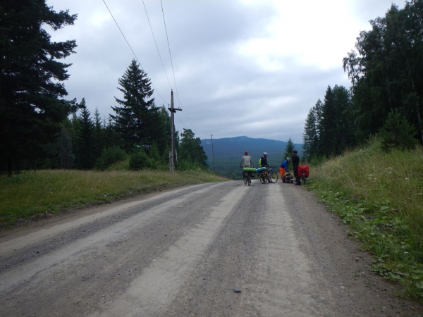 Отсыпная дорога до Сибирки