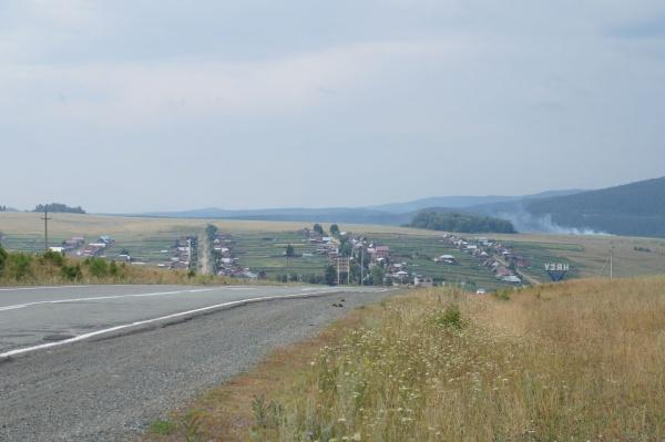 Поселок Узян