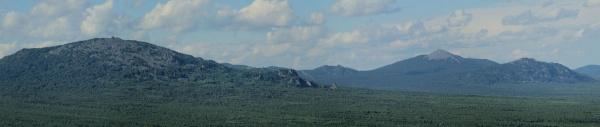 Вид со скал Инзерские Зубчатки